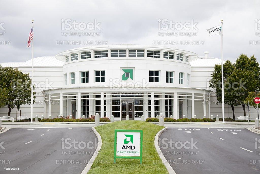 AMD Sunnyvale royalty-free stock photo