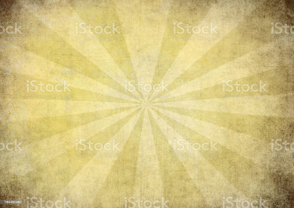 sunrays against a grungy background stock photo