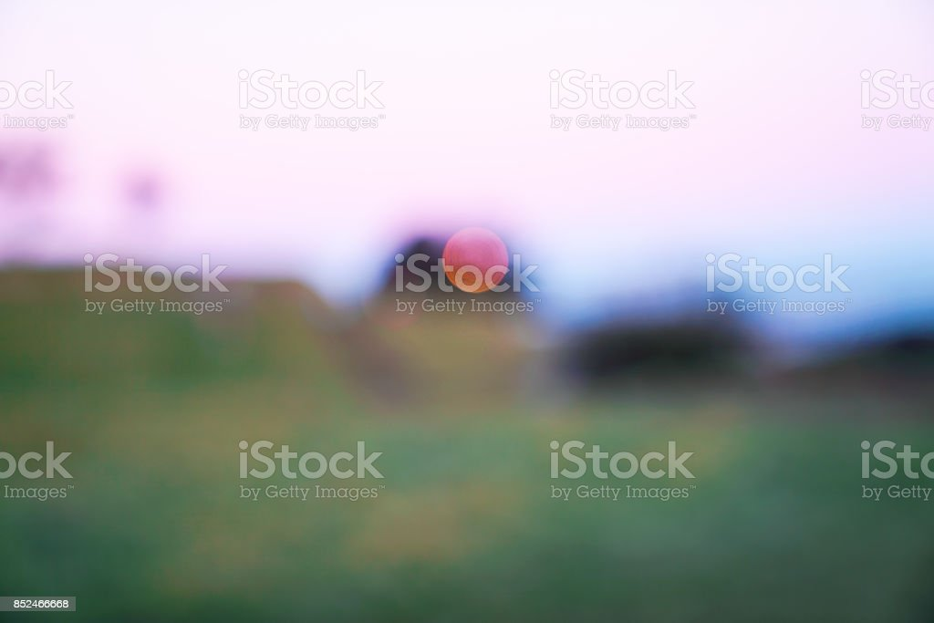 Sunrise abstract stock photo
