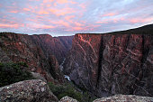 Sunrise at Black Canyon, Colorado