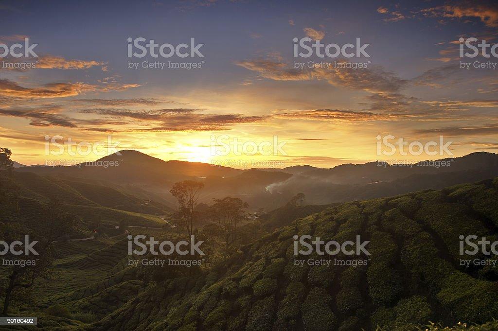 Sunrise At Cameron royalty-free stock photo