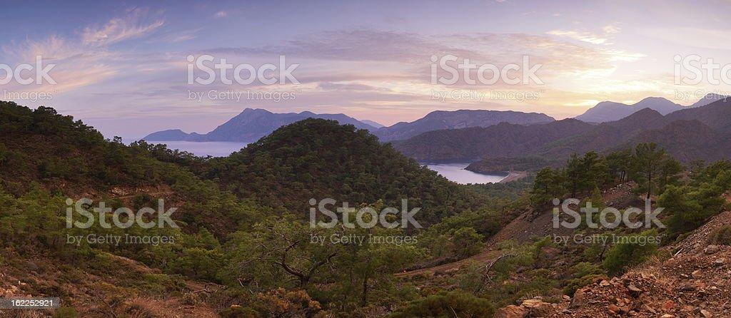 sunrise at sea royalty-free stock photo