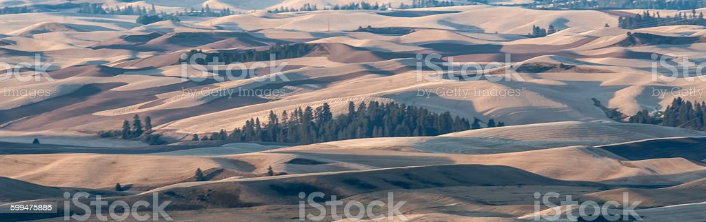 Sunrise at Steptoe Butte stock photo