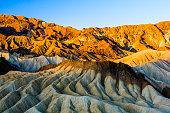 sunrise at Zabriskie Point, Death Valley National Park, USA