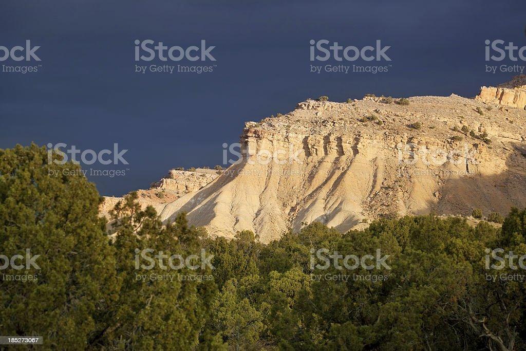 sunrise badlands landscape royalty-free stock photo