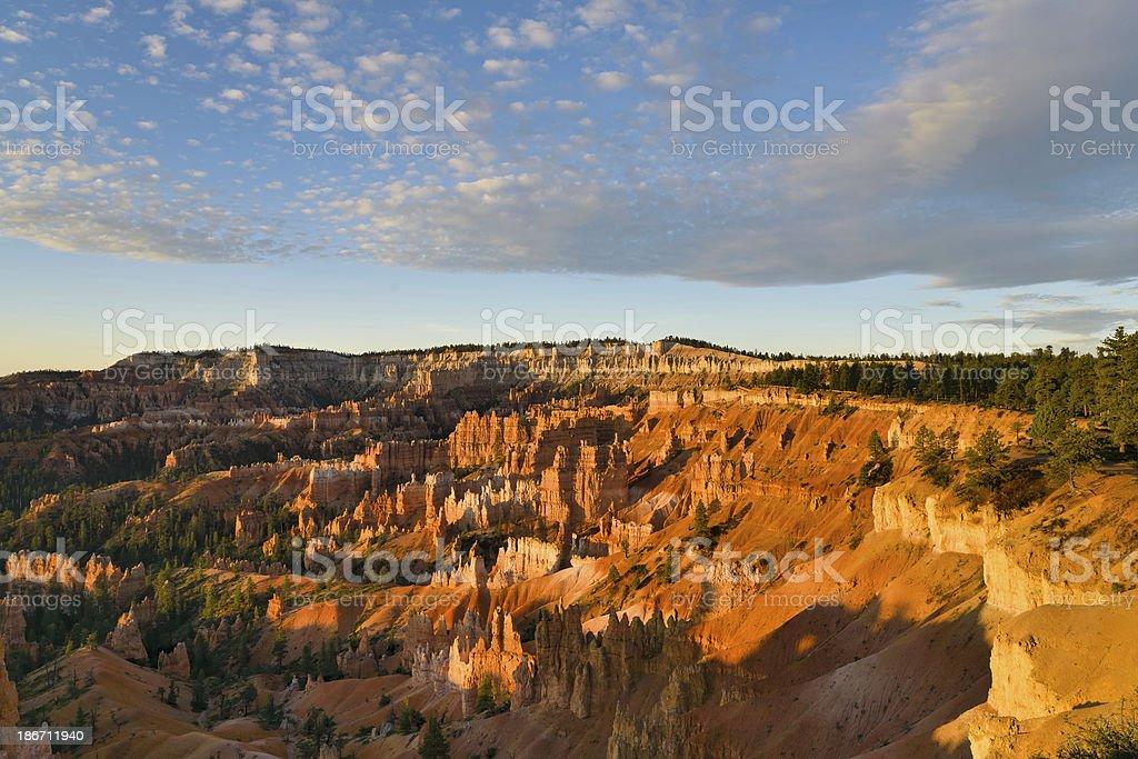 Sunrise, Bryce Canyon, Utah royalty-free stock photo