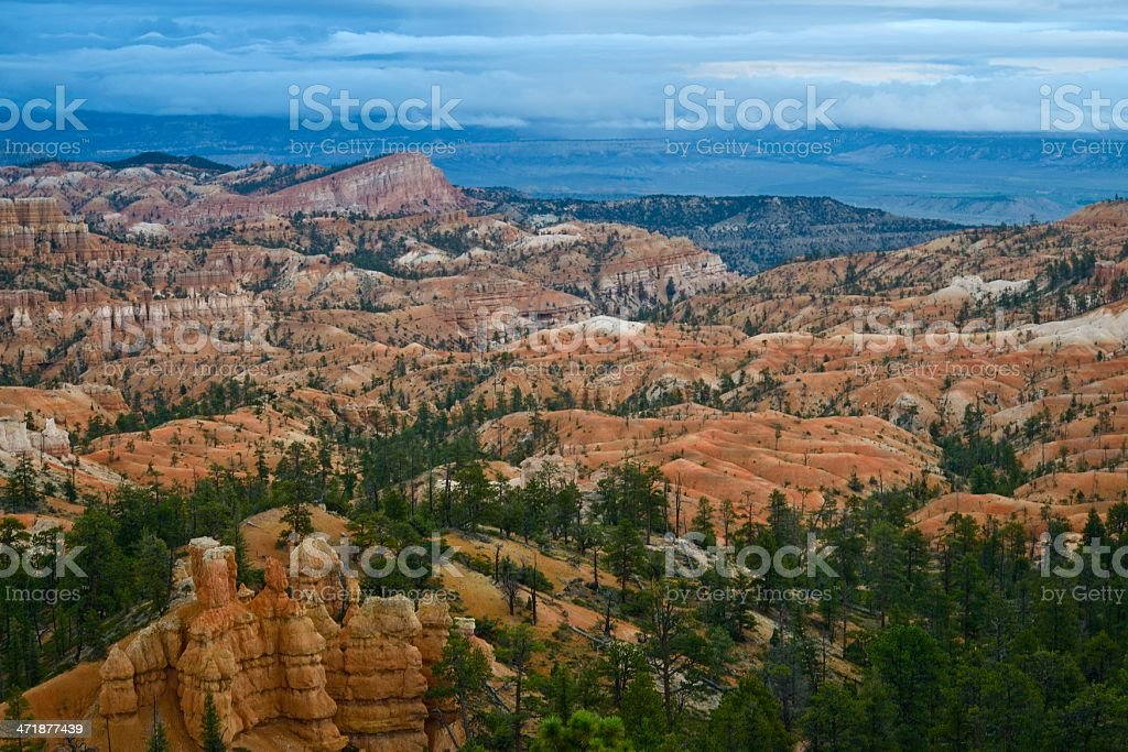 Sunrise, Bryce Canyon, Utah royalty-free stock photo