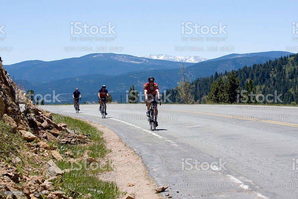 Sunrise Century Ride royalty-free stock photo