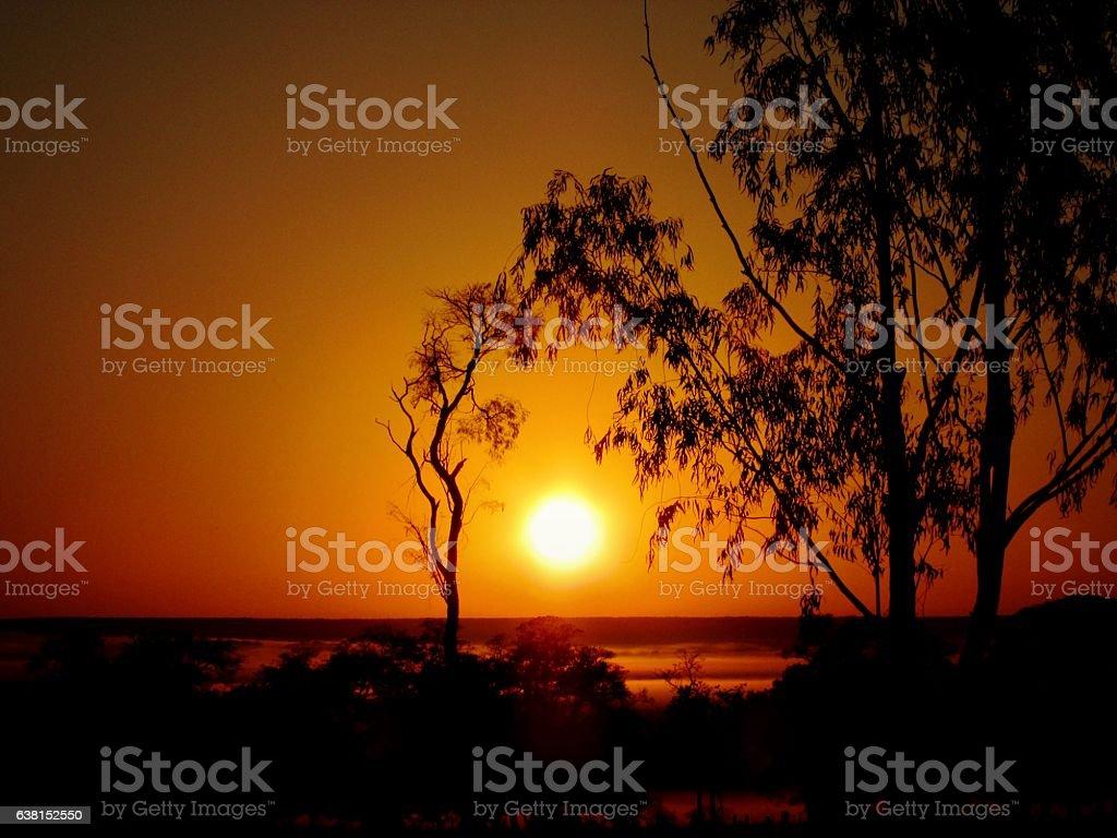 Sunrise - Cerrado´s Region MS stock photo