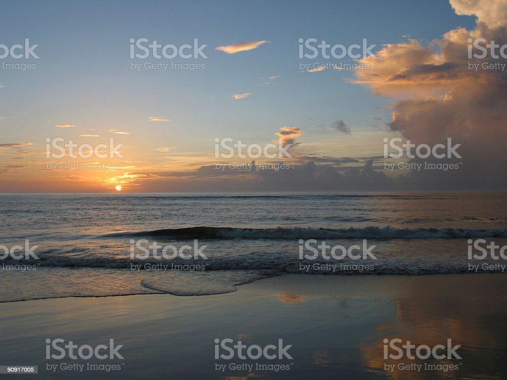 sunrise, duck, nc royalty-free stock photo