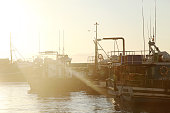 Sunrise Fishing Boats