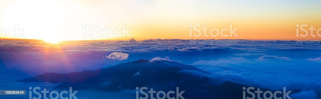 sunrise for backgrounds royalty-free stock photo