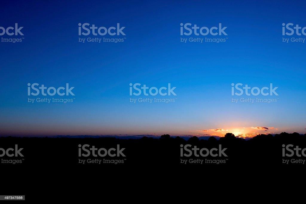 Sunrise, Harbor Island, SC stock photo