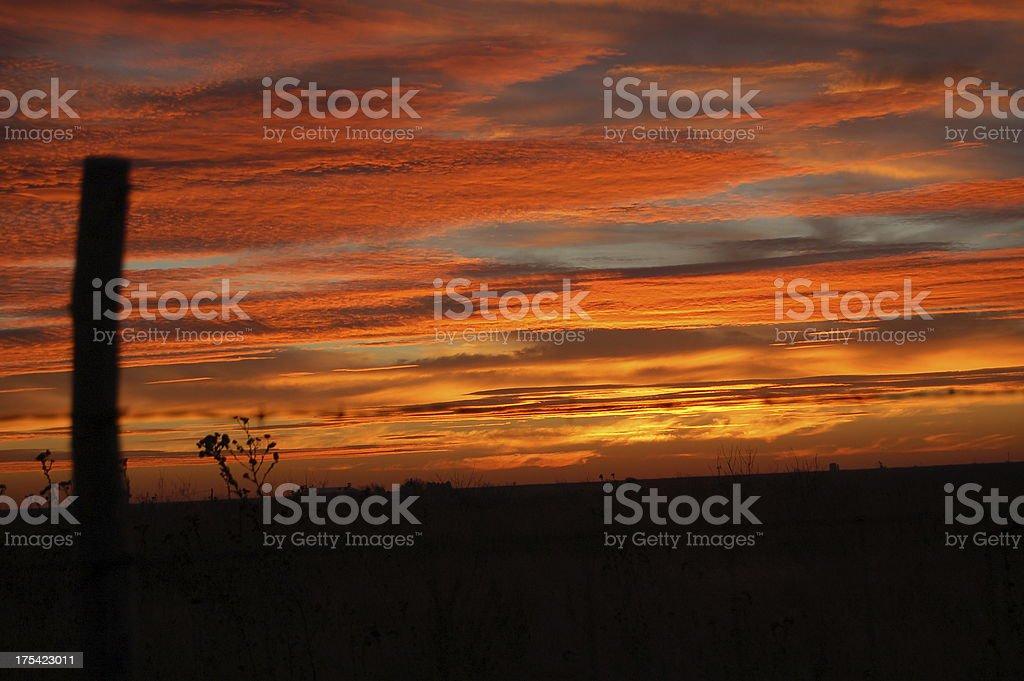Sunrise II royalty-free stock photo