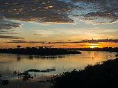 Sunrise in Amazonia