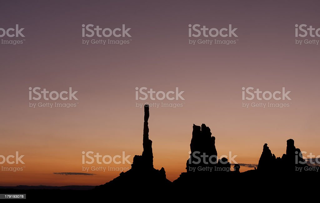 Sunrise in Arizona royalty-free stock photo