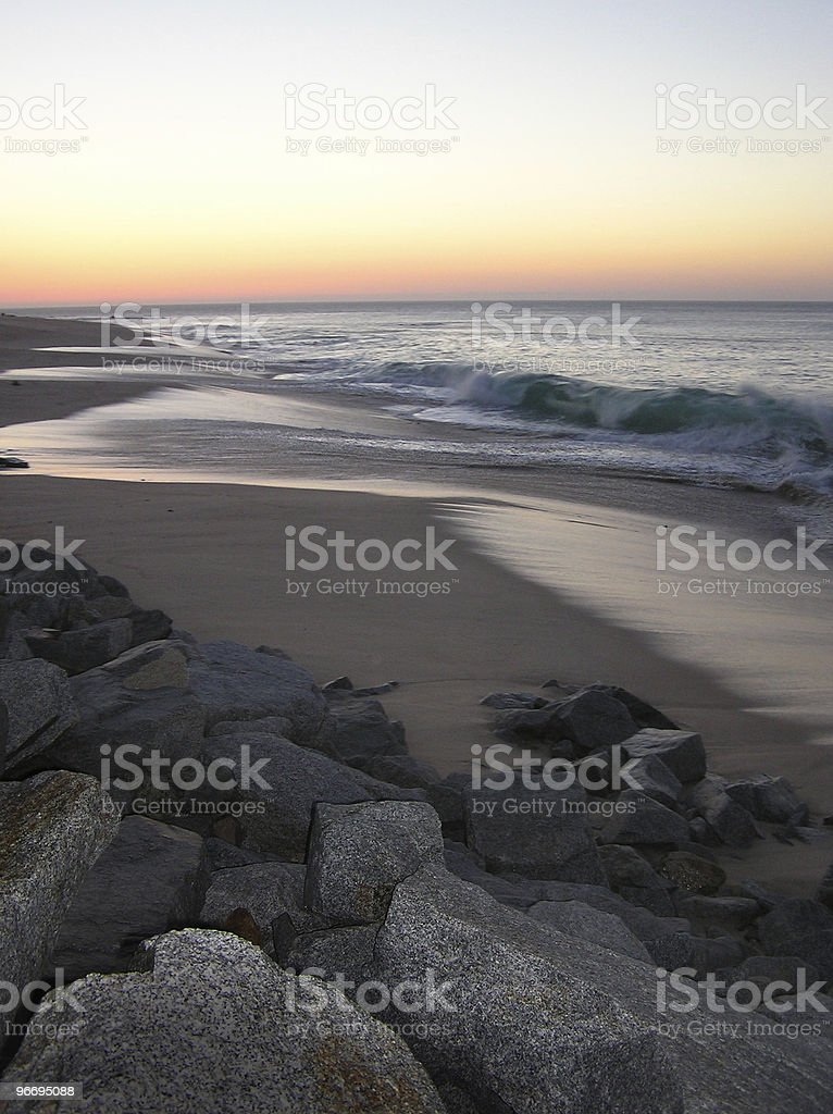 Sunrise in Cabo San Lucas 02 royalty-free stock photo