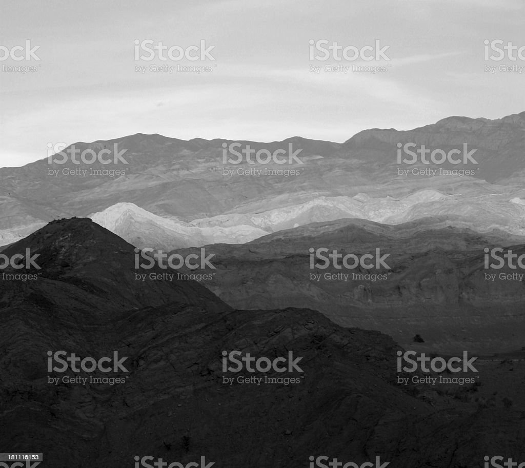 sunrise in Los Andes royalty-free stock photo