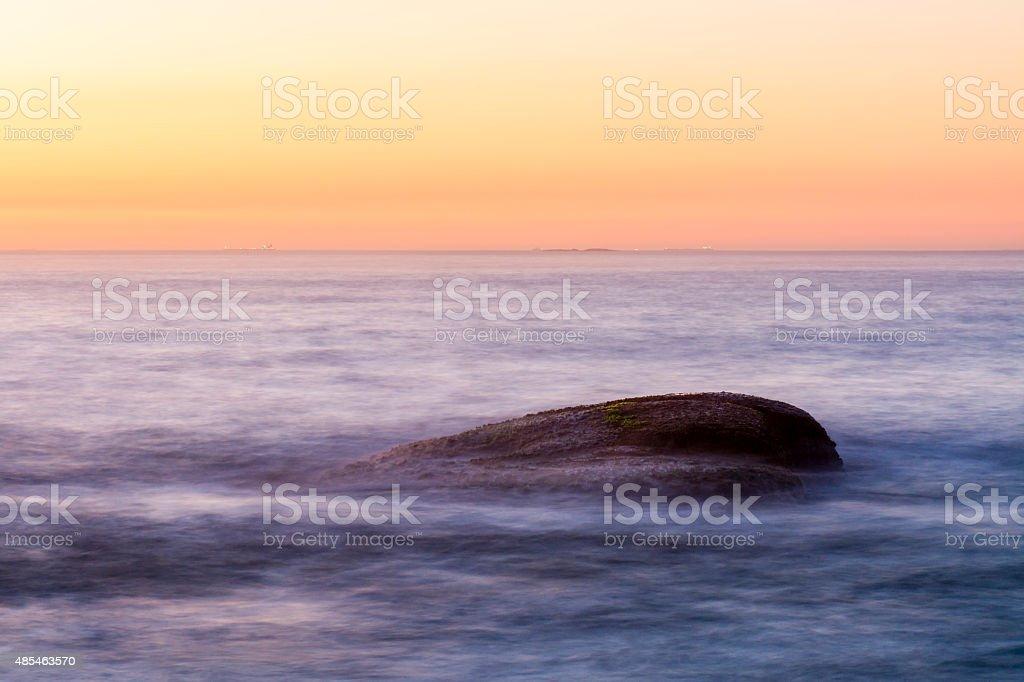 Sunrise in Rio stock photo