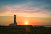 Sunrise in the lighthouse