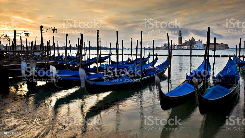 Sunrise in Venice royalty-free stock photo