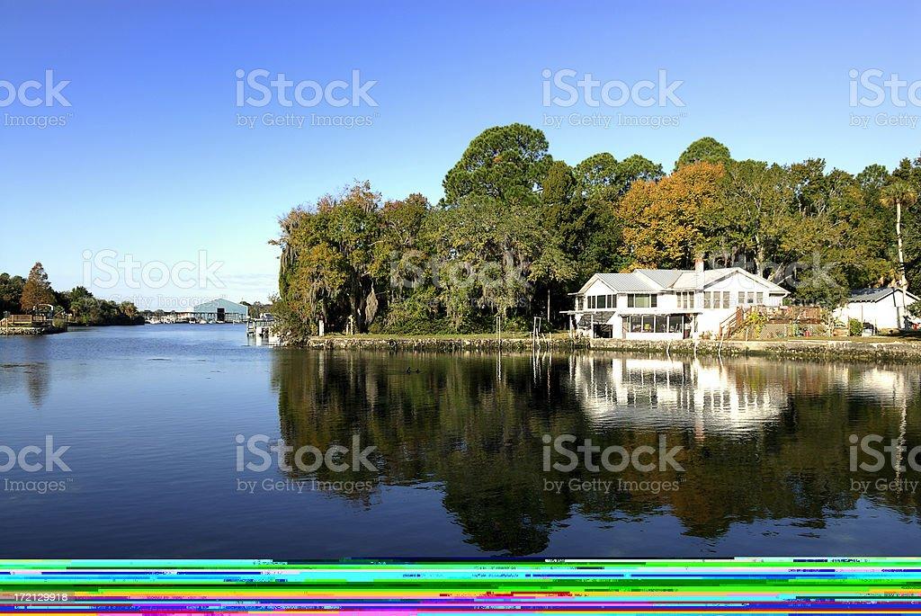 sunrise marina boulevard royalty-free stock photo