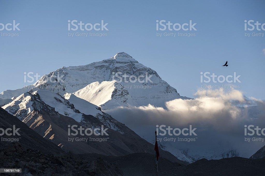 Sunrise of Mt. Everest royalty-free stock photo