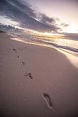 Sunrise on Bermuda Beach
