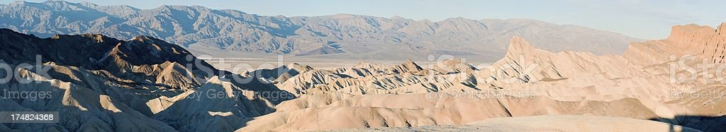 Sunrise on Death Valley royalty-free stock photo