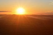 Sunrise over Lehigh Valley