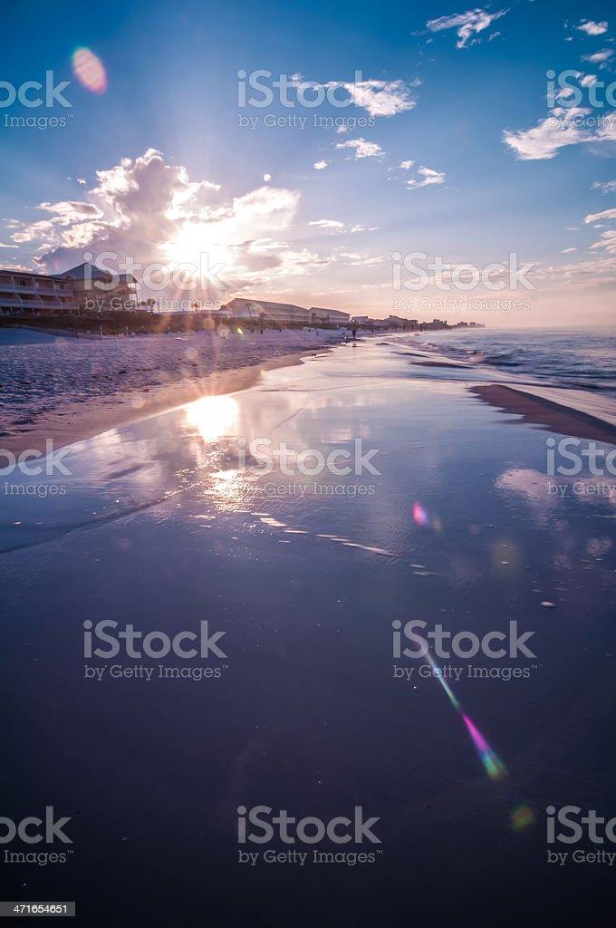 sunrise over sunshine state florida royalty-free stock photo
