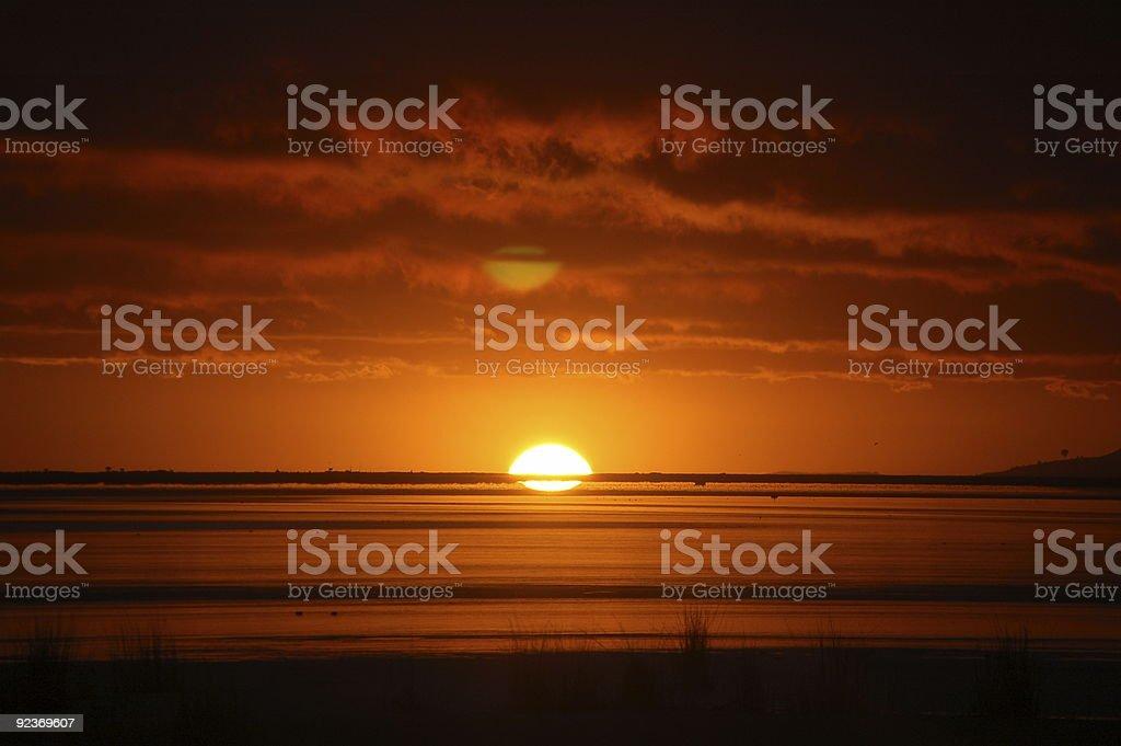 Wschód słońca nad Jezioro Titicaca, Peru zbiór zdjęć royalty-free