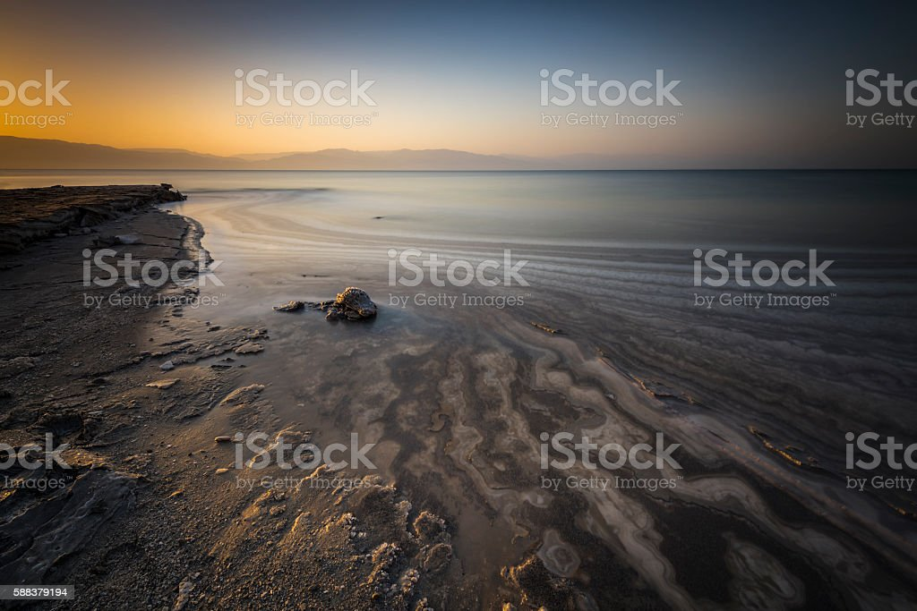 Sunrise patterns... stock photo