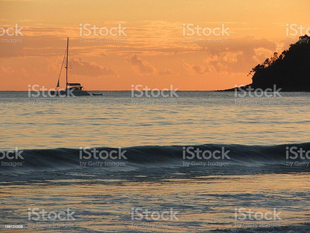 Sunrise Peace stock photo