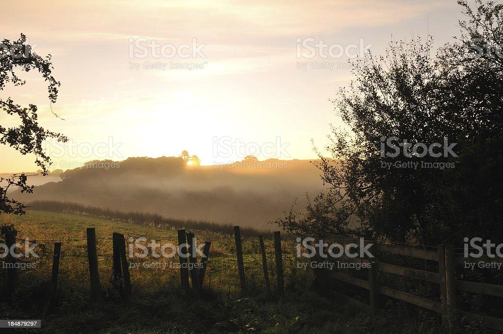 Sunrise. stock photo