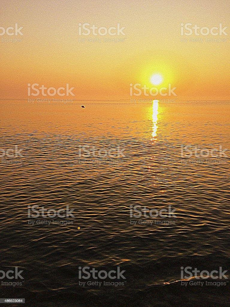 Nascer do sol foto royalty-free