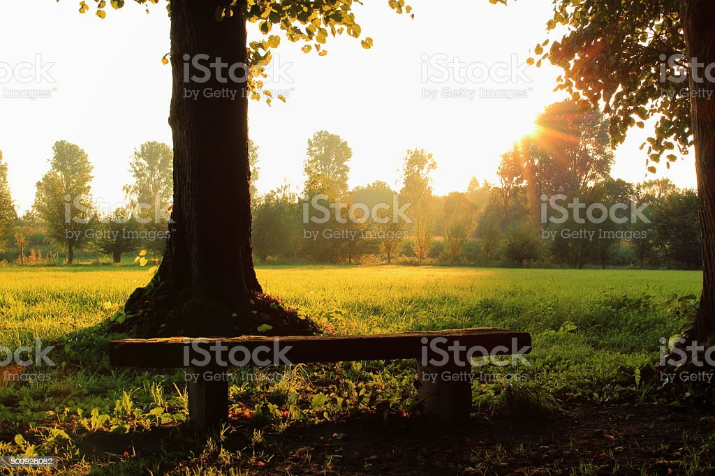 Sonnenaufgang stock photo