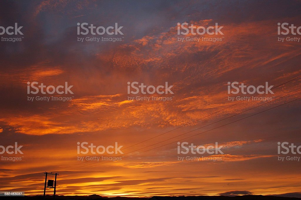 Lever du soleil photo libre de droits