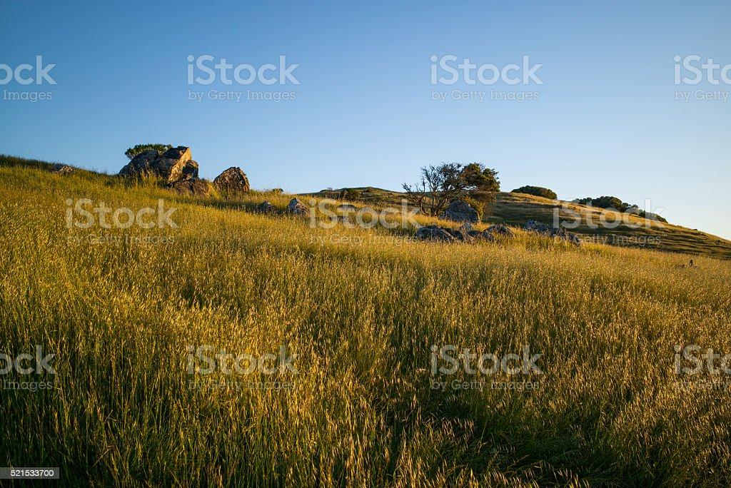 Sunrise Ring Mountain stock photo