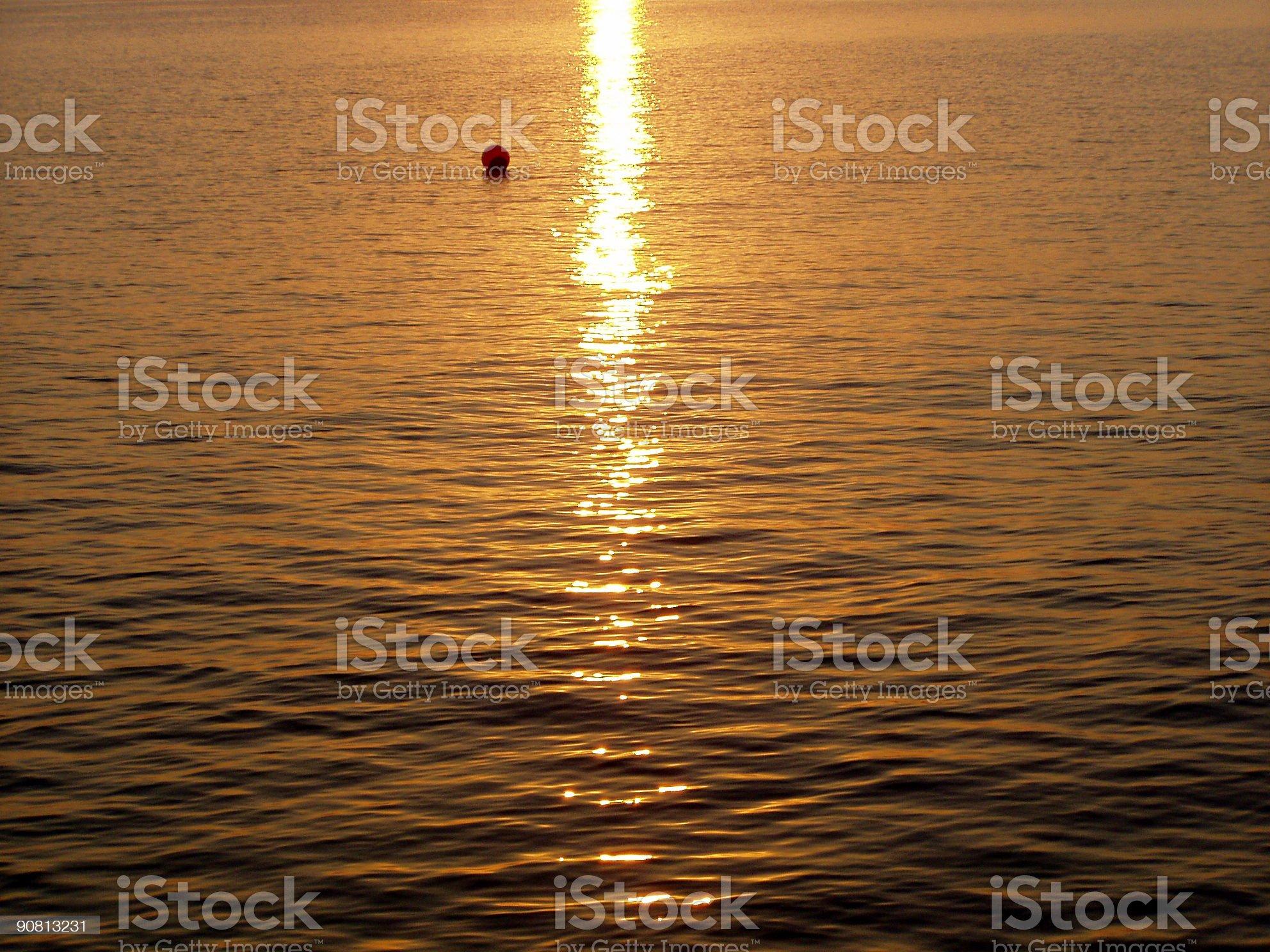 Sunrise stream royalty-free stock photo