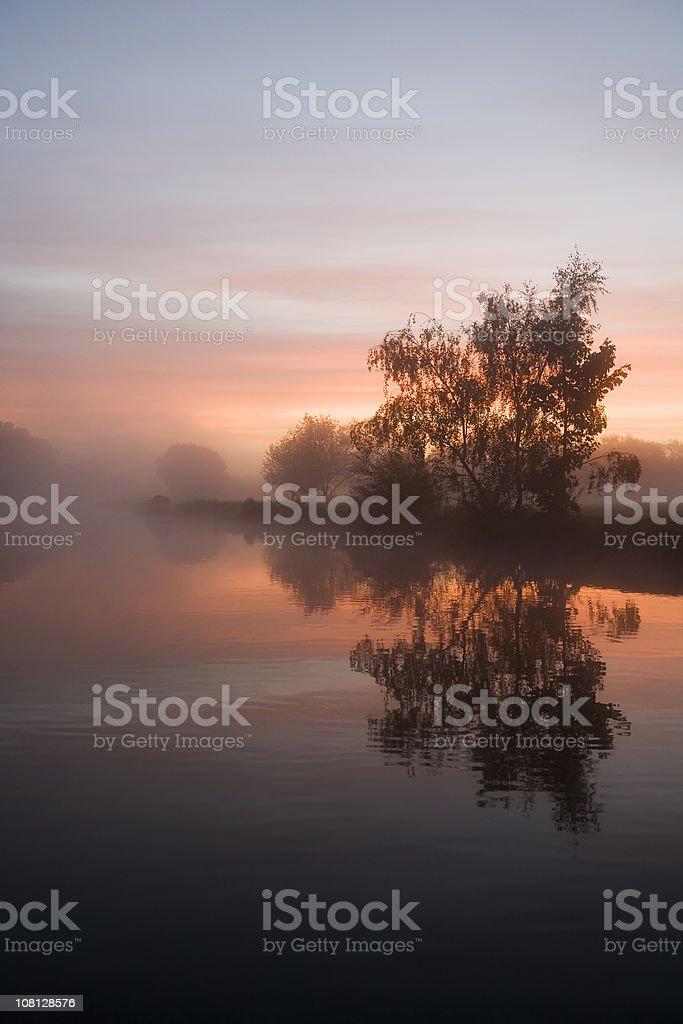 Sunrise Tranquility stock photo