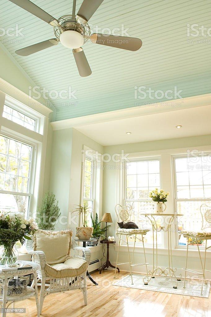 Sunroom Interior royalty-free stock photo