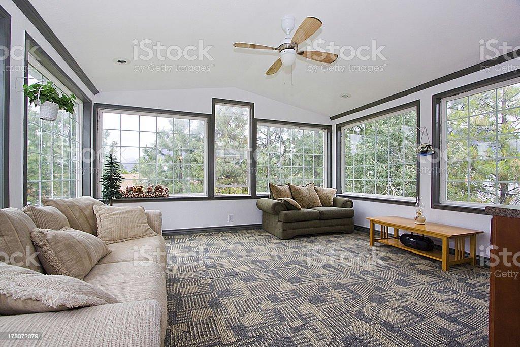 Sunroom stock photo