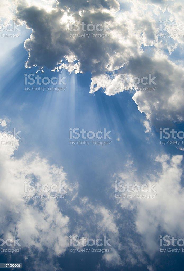 Sun's Rays royalty-free stock photo