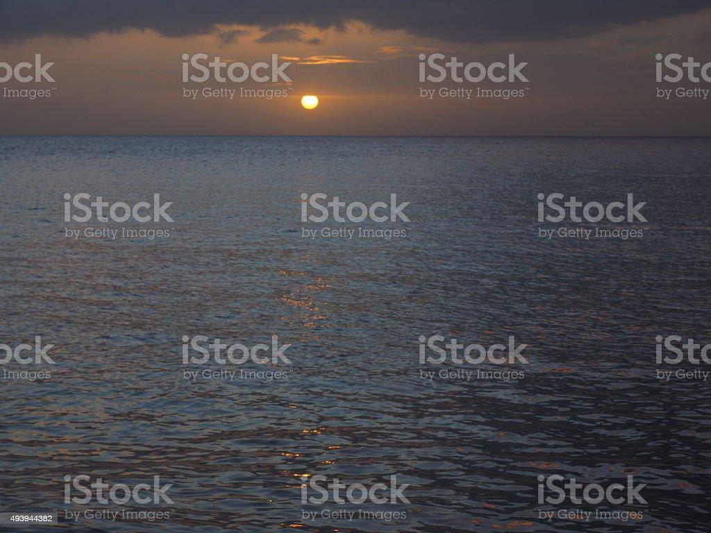 09 au coucher du soleil photo libre de droits