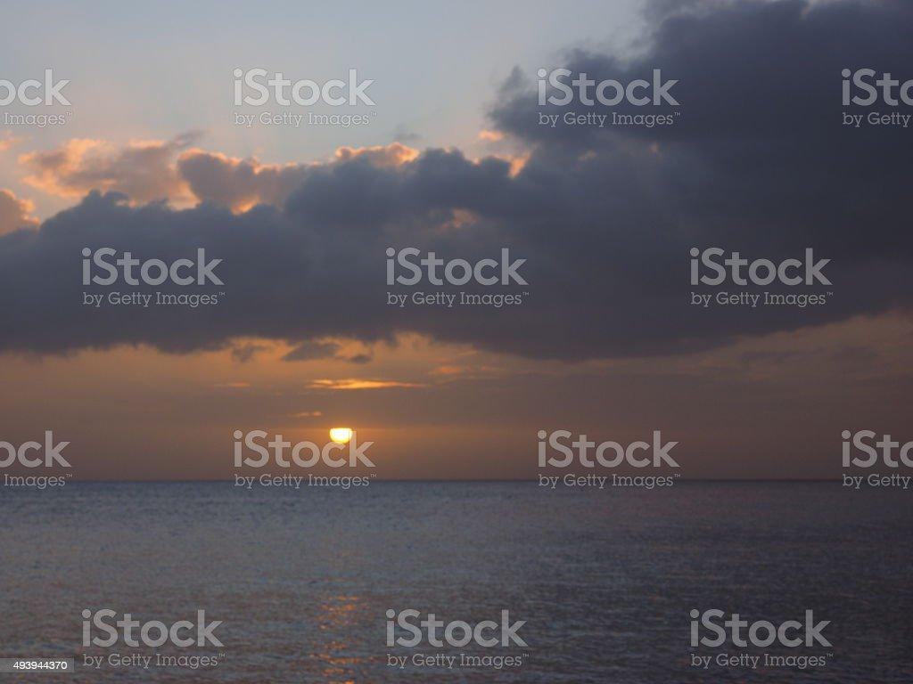 10 au coucher du soleil photo libre de droits