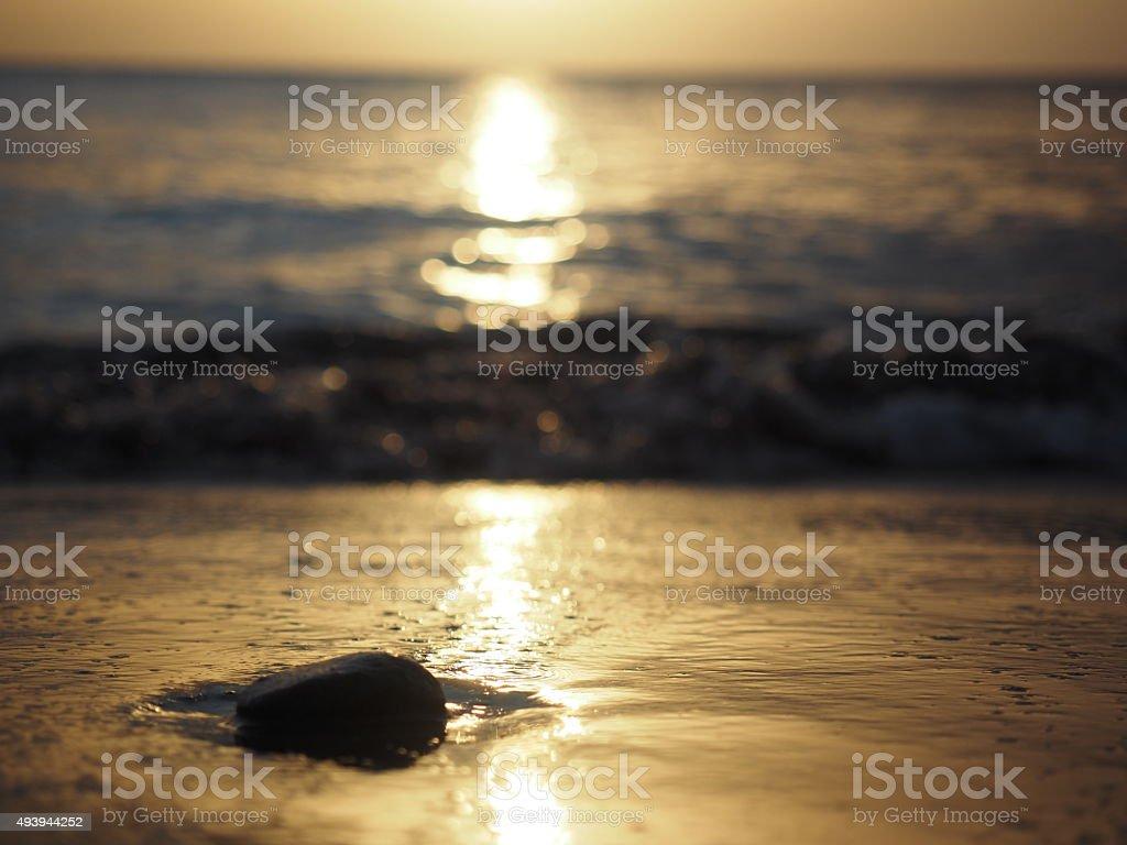 17 au coucher du soleil photo libre de droits