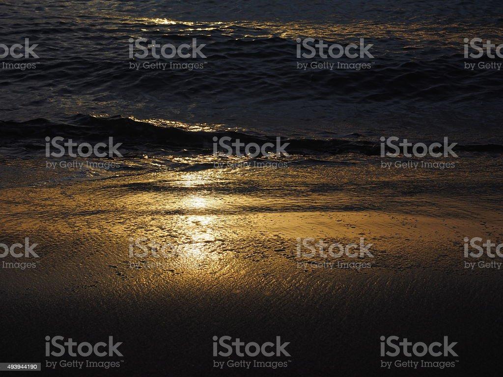 23 au coucher du soleil photo libre de droits