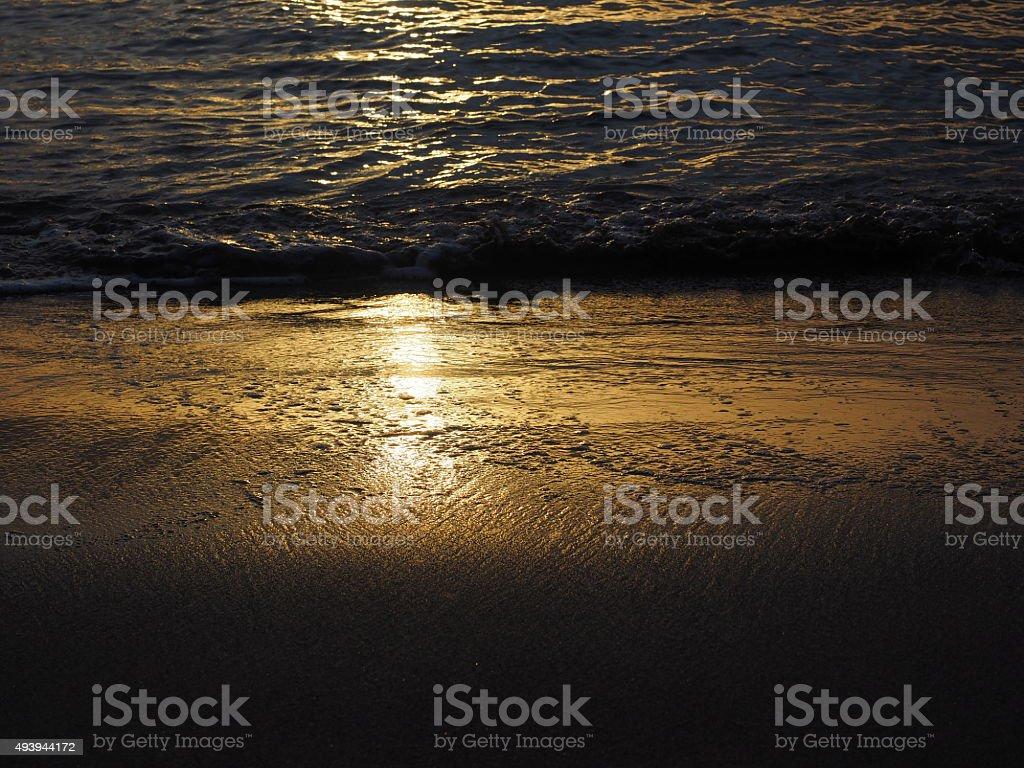 Soleil 24 heures sur 24 photo libre de droits