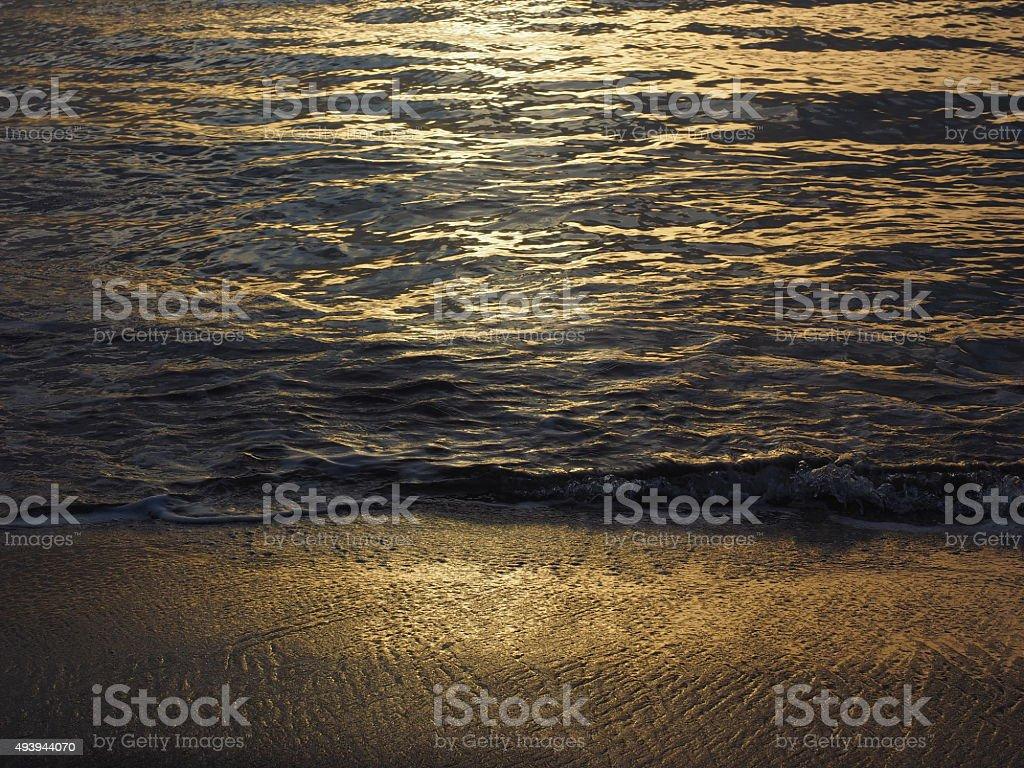 Coucher du soleil de 34 photo libre de droits